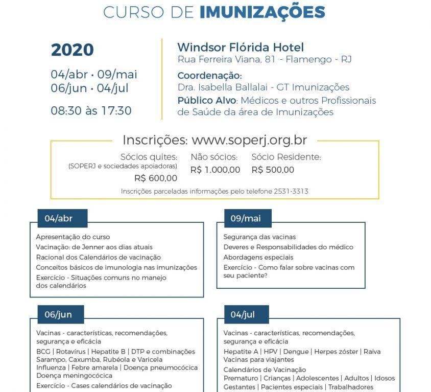 Curso de Imunizações