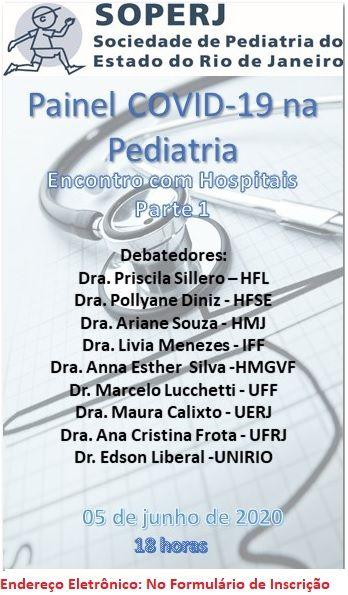 Painel COVID-19 na Pediatria