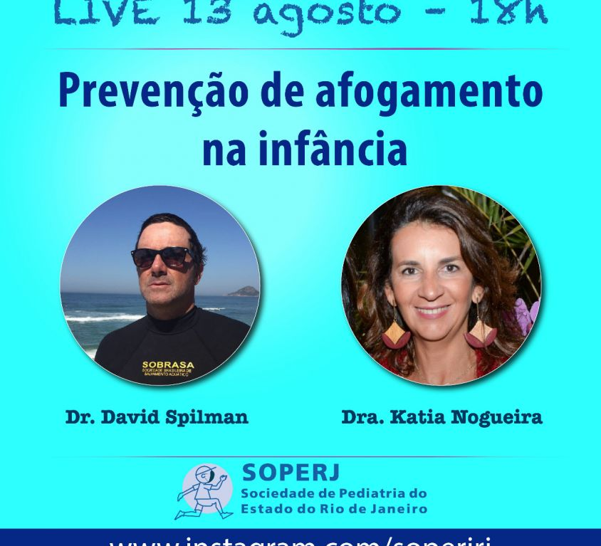 Live – Prevenção de Afogamento na Infância