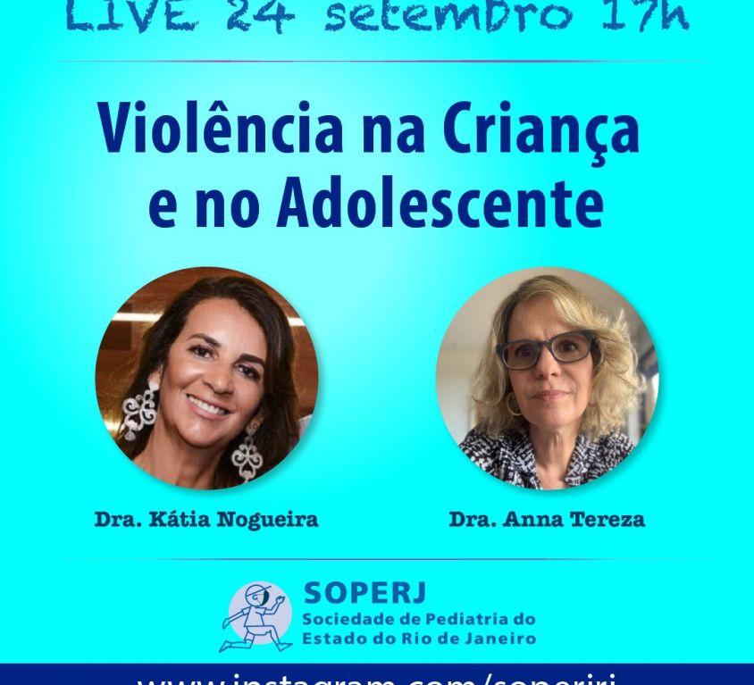 Live – Violência na Criança e no Adolescente