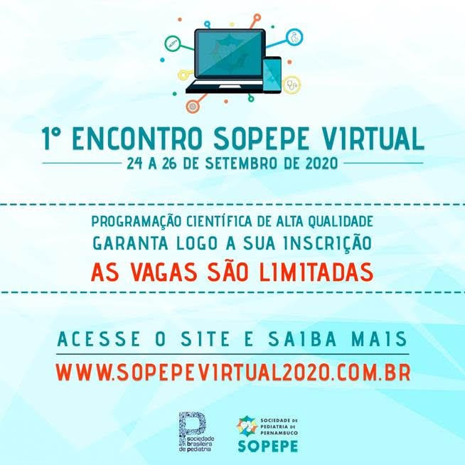 1º Encontro SOPEPE Virtual