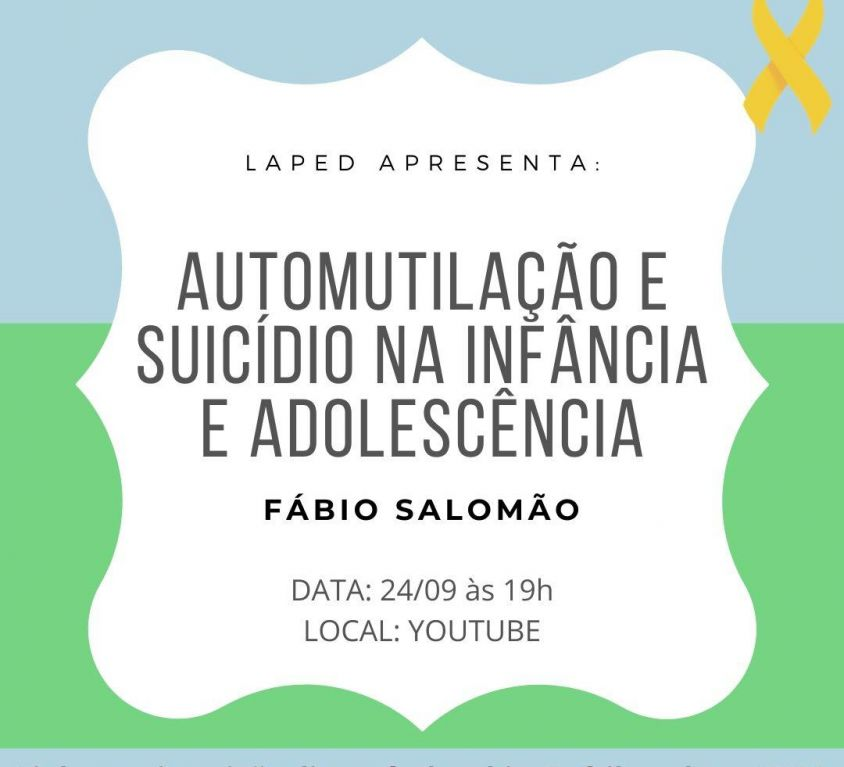 Automutilação e Suicídio na Infância e Adolescência