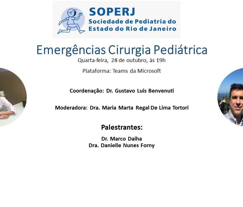 Emergências Cirurgia Pediátrica