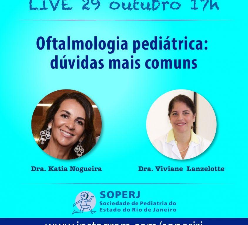 Live – Oftalmologia Pediátrica: Dúvidas mais Comuns