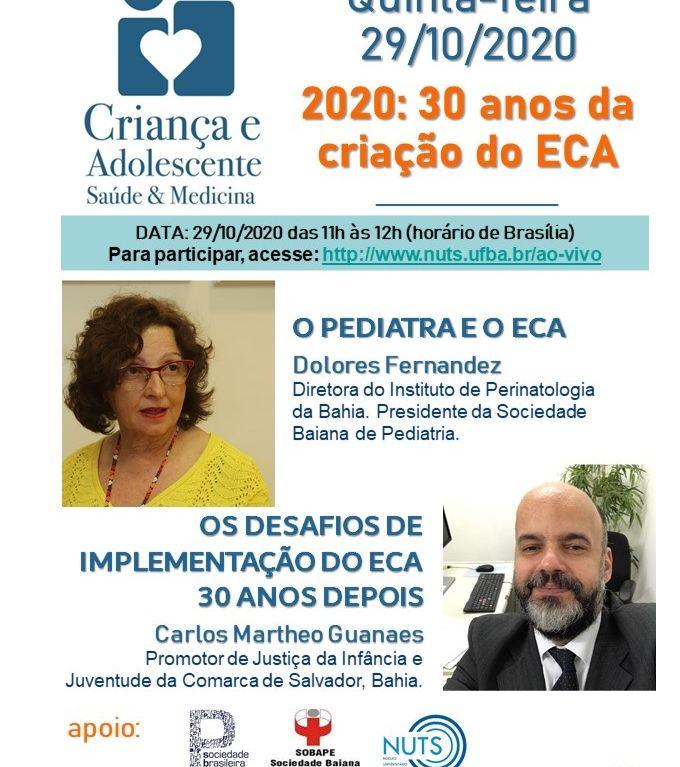 2020: 30 Anos da Criação do ECA