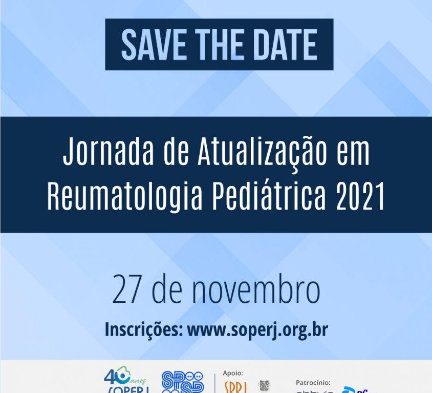 Jornada de Atualização em Reumatologia Pediátrica – Inscrições Abertas!